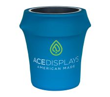 Trash Can Cover - Dye-Sub Stretch Fabric Graphic