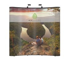 Aspen - 8'w x 8'h Curved Display