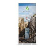 Quickie Roll Retractable Banner Stand