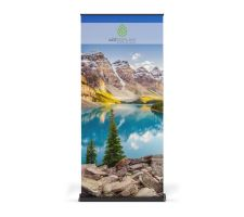 Super Stand Premium Retractable Banner Stand - Full Height