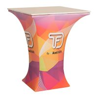 Tru-Fit 3.0 - Square Plex Counter - Single-Sided Replacement Fabric Graphic