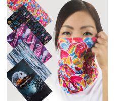 Gaiter - Premium Dye-Sub Stretch Fabric Graphic (Hemmed)