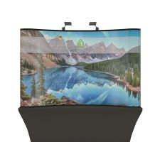 Aspen - 8'w x 5'h Curved Display